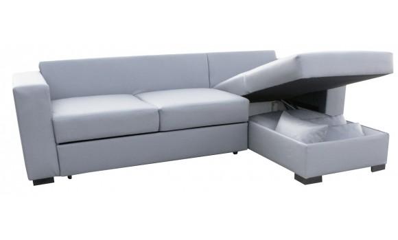 Canapé d'angle réversible et convertible joe
