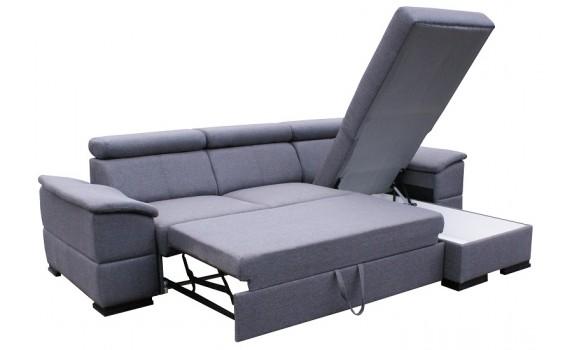 Canapé angle réversible et convertible enjoy