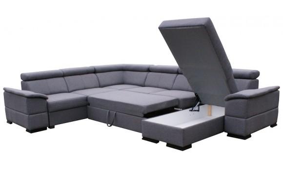 Canapé d'angle panoramique joy