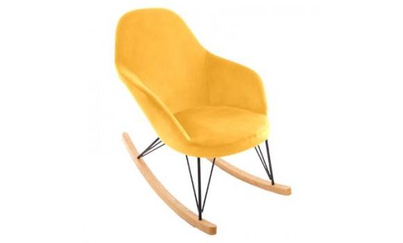 Rocking chair ewan gris