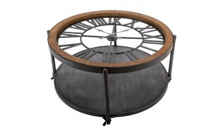 Table basse pendule