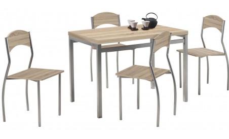 Table et 4 chaises Primo
