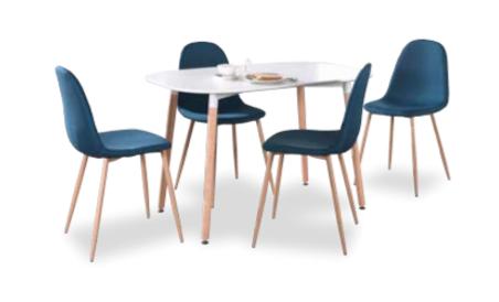 Table Evi blanc mat