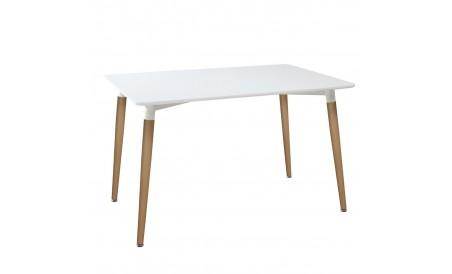 Table roka pieds en bois