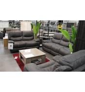 Canapé 2 places relax électriques
