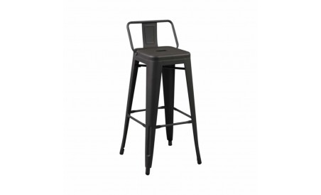 Tabouret bar Retro Noir