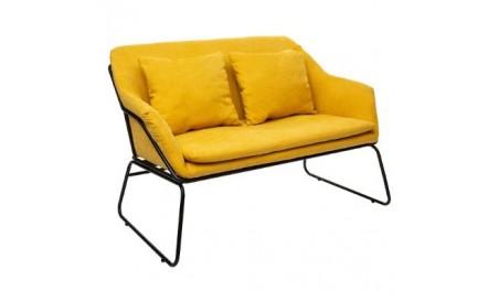 Canapé 2 places Chet Jaune