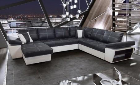 Canapé d'angle convertible panoramique Tivoli