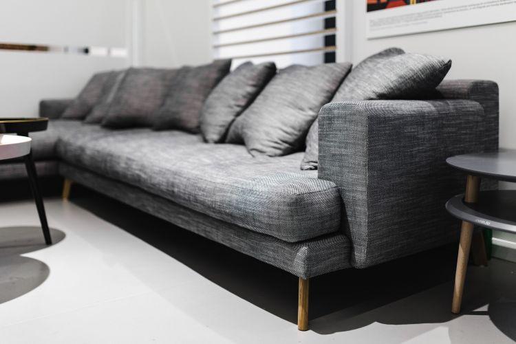 long canapé gris pas cher